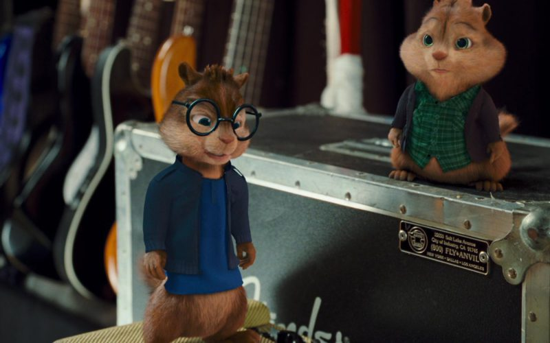 Anvil Cases in Alvin and the Chipmunks The Squeakquel (2009)