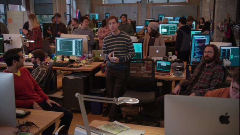 Apple Computers in Silicon Valley: Facial Recognition (2018) - TV Show Product Placement