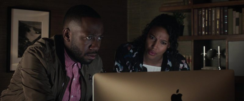 Apple iMac Computer Used by Lamorne Morris and Kylie Bunbury in Game Night (2018) Movie Product Placement