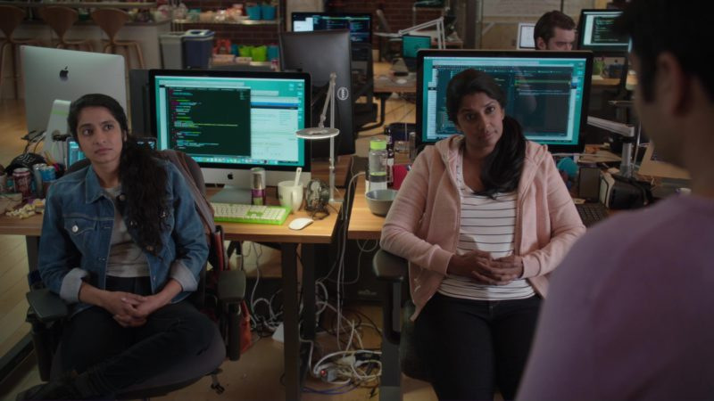 Apple iMac and Dell Monitor in Silicon Valley: Initial Coin Offering (2018) TV Show Product Placement