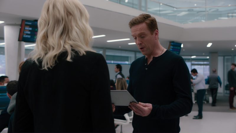 Apple iPad Used by Damian Lewis in Billions: All the Wilburys (2018) - TV Show Product Placement