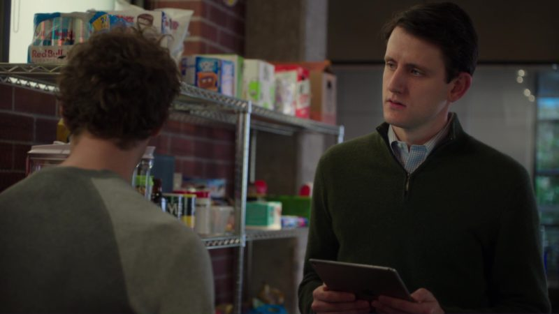 Apple iPad Used by Zach Woods in Silicon Valley: Initial Coin Offering (2018) TV Show Product Placement