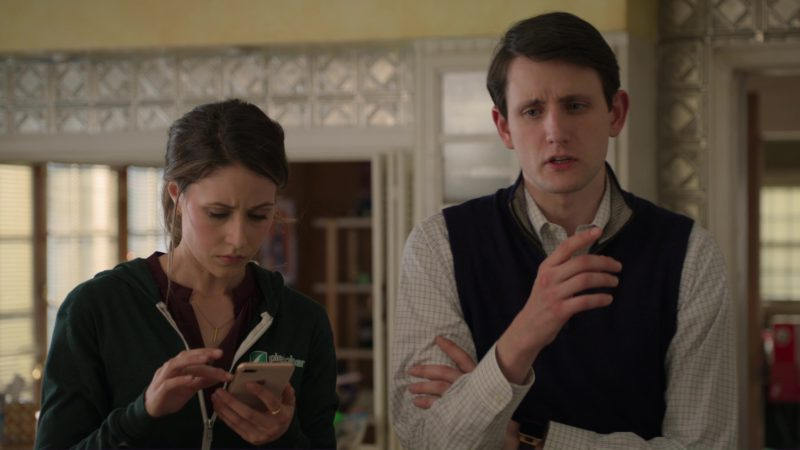 Apple iPhone Used by Amanda Crew (Monica Hall) in Silicon Valley: Fifty-One Percent (2018) TV Show Product Placement