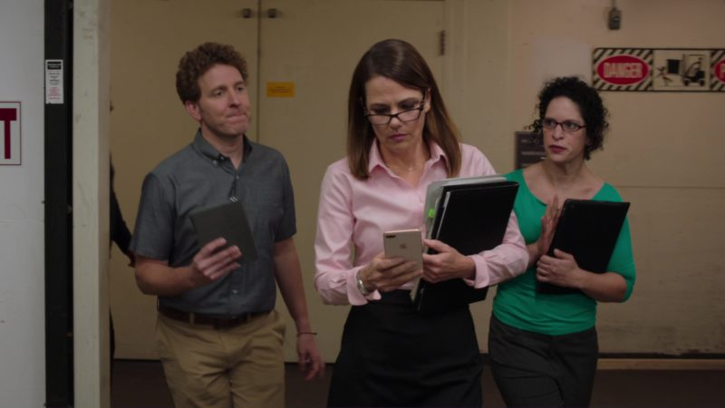 Apple iPhone Used by Suzanne Cryer in Silicon Valley: Artificial Emotional Intelligence (2018) TV Show Product Placement