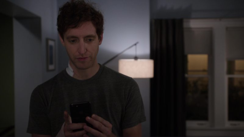 Apple iPhone Used by Thomas Middleditch in Silicon Valley: Chief Operating Officer (2018) - TV Show Product Placement