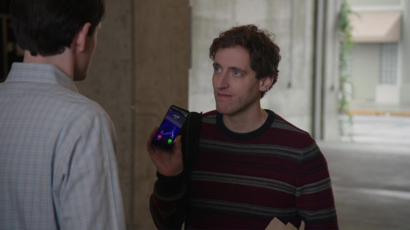 Apple iPhone Used by Thomas Middleditch in Silicon Valley: Tech Evangelist (2018) TV Show