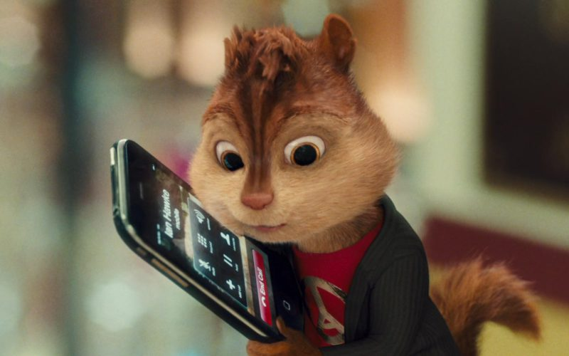 Apple iPhone in Alvin and the Chipmunks (5)