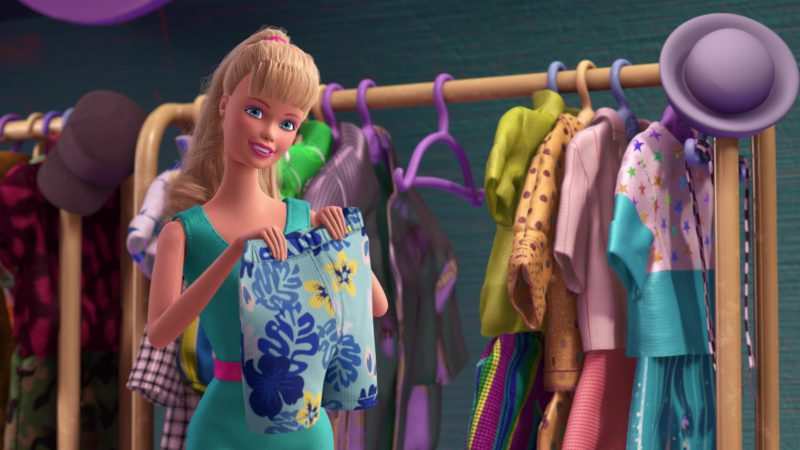 Barbie Doll in Toy Story 3 (2010) - Animation Movie Product Placement