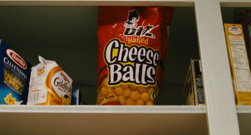 Barilla Pasta, Pepperidge Farm Goldfish and UTZ Cheese Balls in Alvin and the Chipmunks (2007) - Movie Product Placement