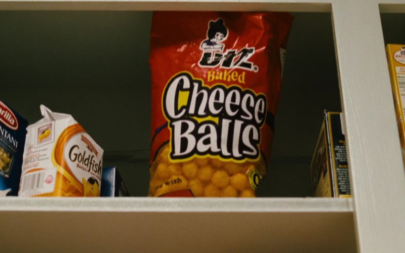 Barilla Pasta, Pepperidge Farm Goldfish and UTZ Cheese Balls in Alvin and the Chipmunks