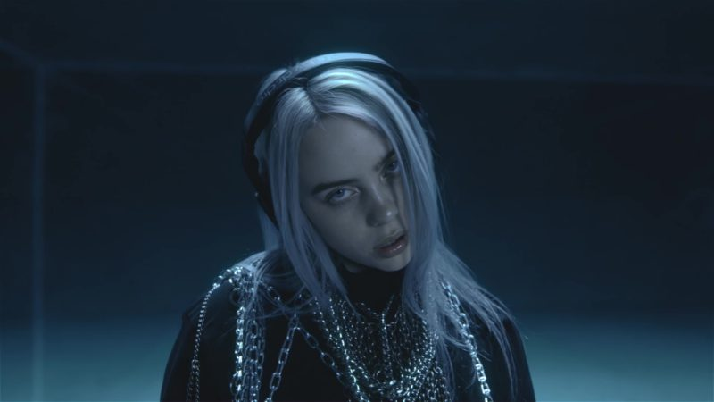Beats Headphones Worn by Billie Eilish in Lovely ft. Khalid (2018) Official Music Video Product Placement