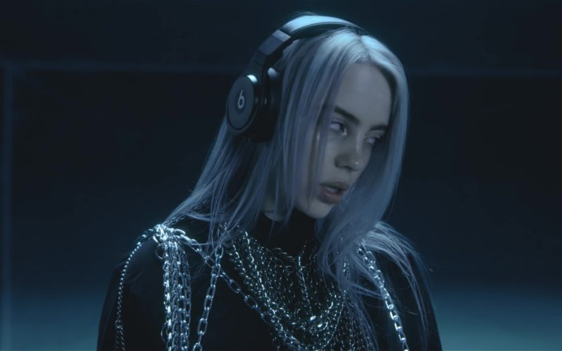 Beats Headphones Worn by Billie Eilish in Lovely ft. Khalid (5)