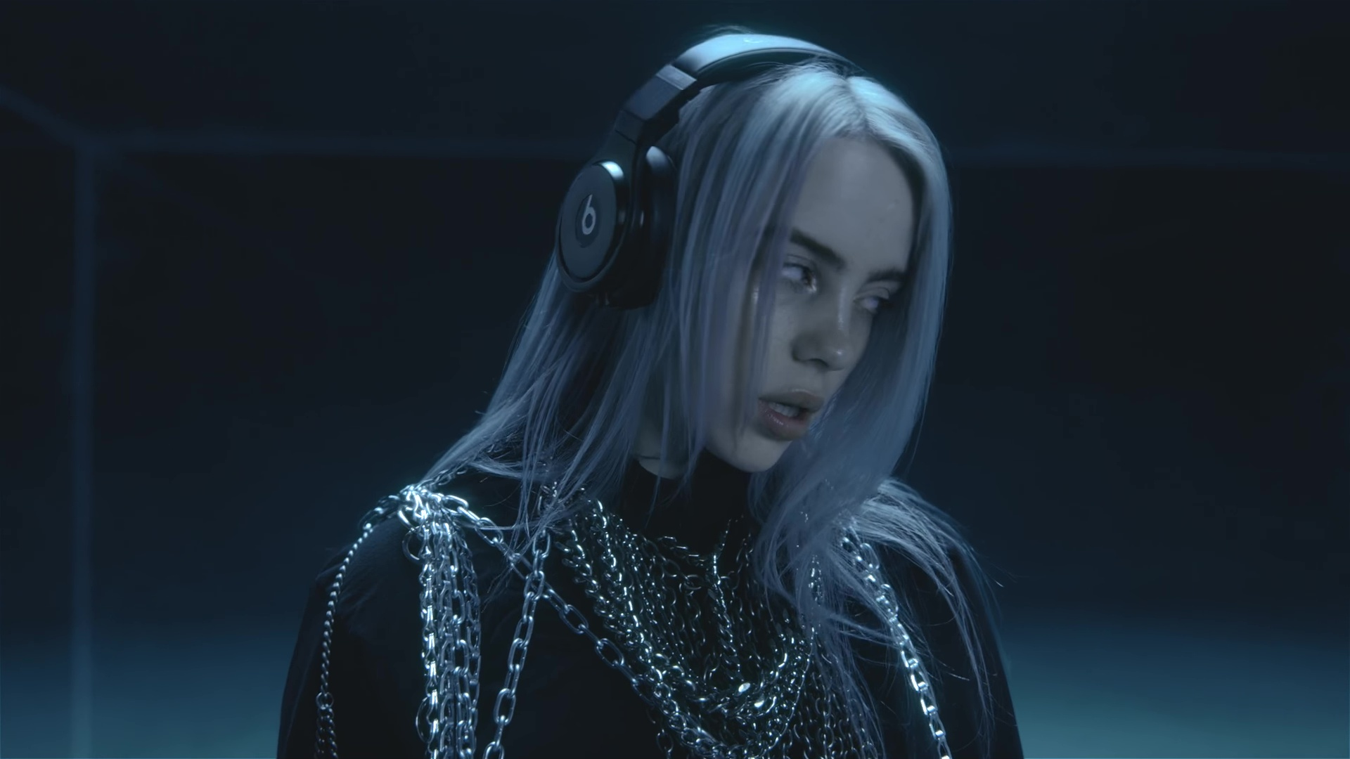 Beats Headphones Worn by Billie Eilish in Lovely ft. Khalid (2018) Official Music