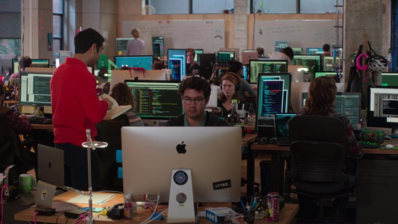 Belkin, GoDaddy Green Cup, Apple Computers and Homicide Energy Drink in Silicon Valley: Artificial Emotional Intelligence (2018) TV Show Product Placement