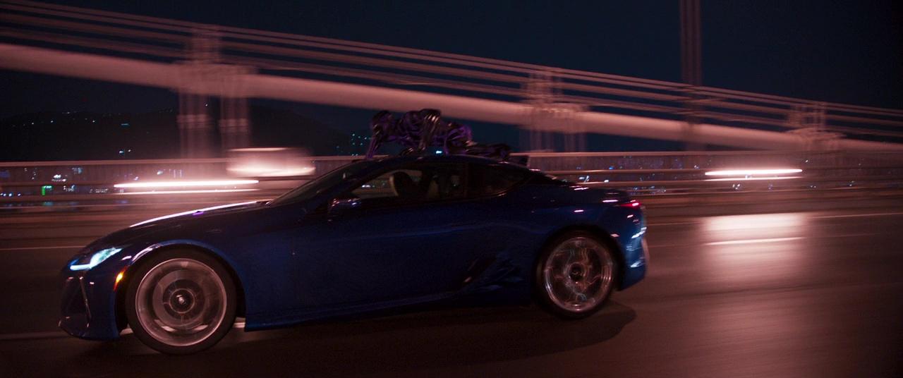 Blue Lexus Lc 500 Car In Black Panther 2018 Movie