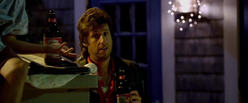 Budweiser Beer and Adam Sandler in That's My Boy (2012) Movie Product Placement