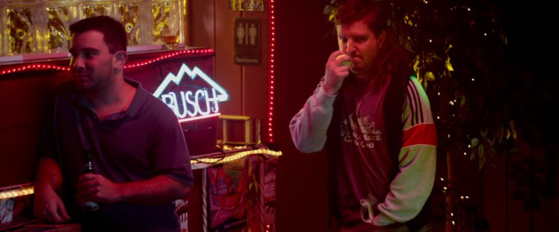 Busch Sign and Budweiser Posters in That's My Boy (2012) Movie Product Placement