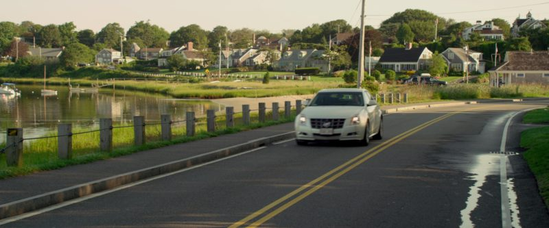 White Cadillac CTS Driven by Andy Samberg in That's My Boy (2012) - Movie Product Placement