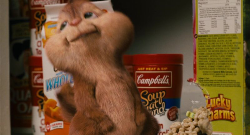 Campbell's in Alvin and the Chipmunks (2007) Movie Product Placement