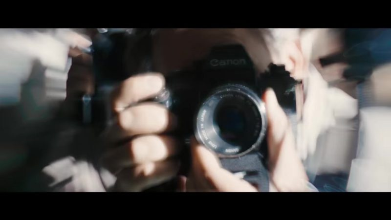 Canon Camera in Bohemian Rhapsody (2018) Movie Product Placement