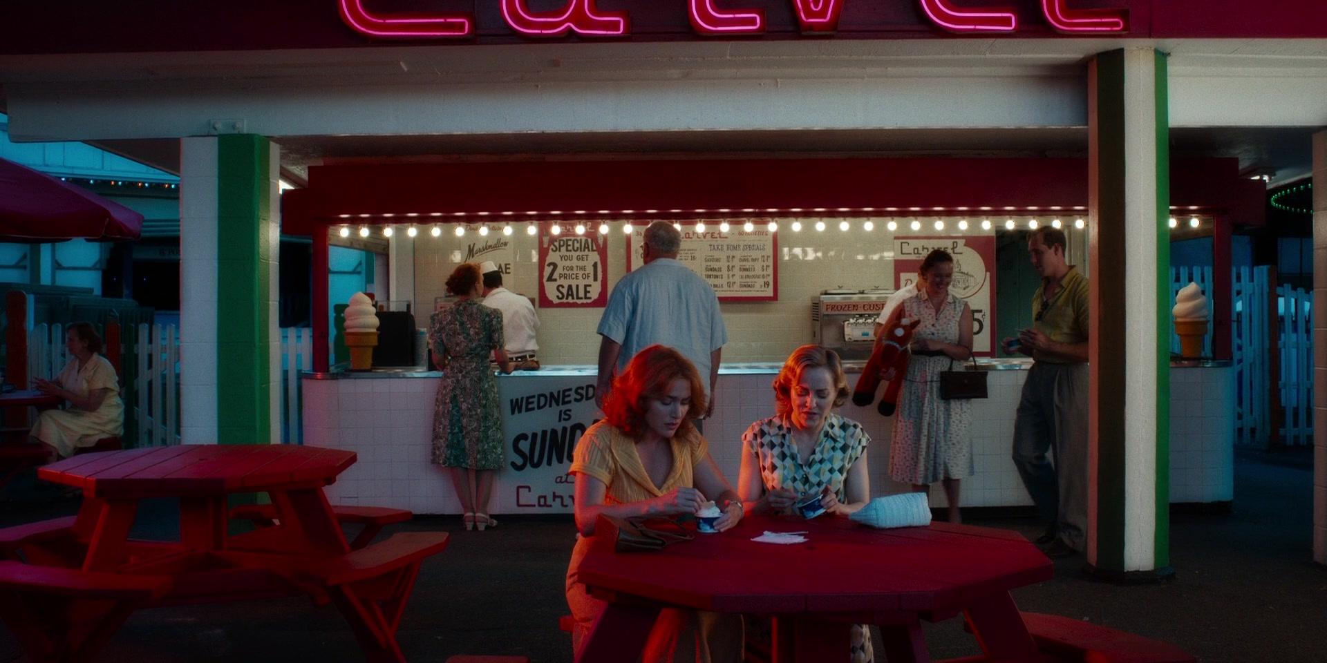 Carvel Ice Cream Restaurant In Wonder Wheel 2017 Movie