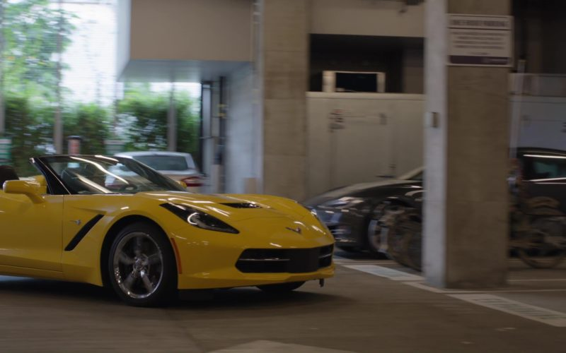 Chevrolet Corvette Driven by Jimmy O. Yang (Jian-Yang) in Silicon Valley (1)
