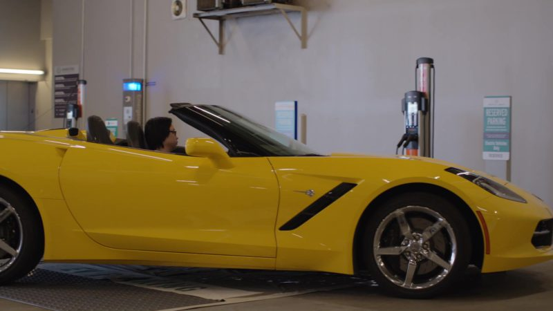 Chevrolet Corvette Driven by Jimmy O. Yang (Jian-Yang) in Silicon Valley: Tech Evangelist (2018) TV Show Product Placement