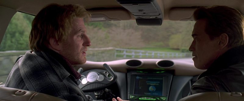 Chevrolet Pickup Truck Futuristic Concept Driven by Michael Rapaport in The 6th Day (2000) Movie Product Placement