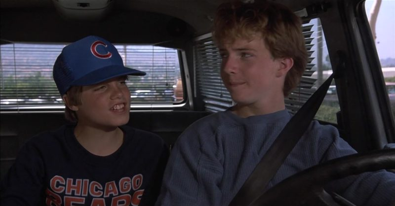 Chicago Bears Cap Worn by Jade Calegory in Mac and Me (1988) Movie Product Placement