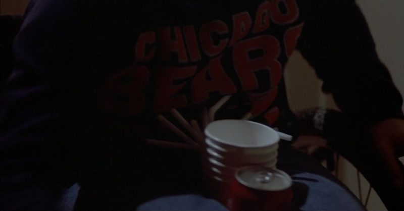 Chicago Bears Sweatshirt Worn by Jade Calegory in Mac and Me (1988) Movie Product Placement
