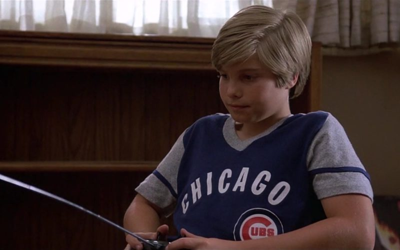 Chicago Bears T-Shirt Worn by Jade Calegory in Mac and Me (1)