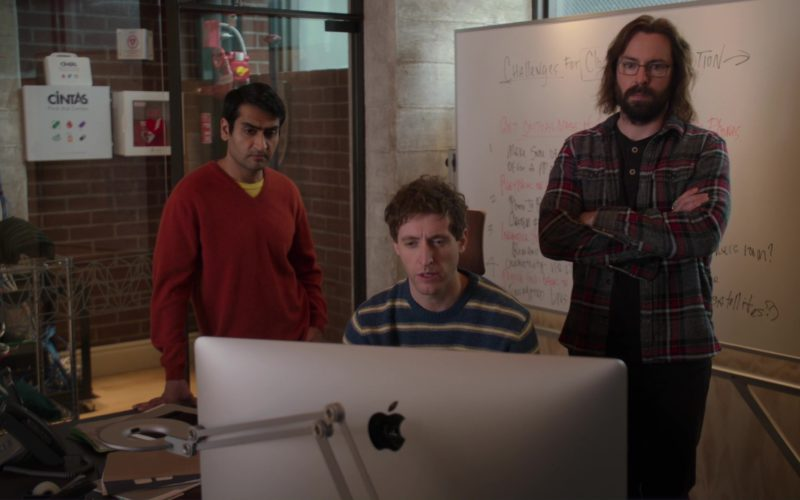 Cintas and iMac Computer Used by Thomas Middleditch