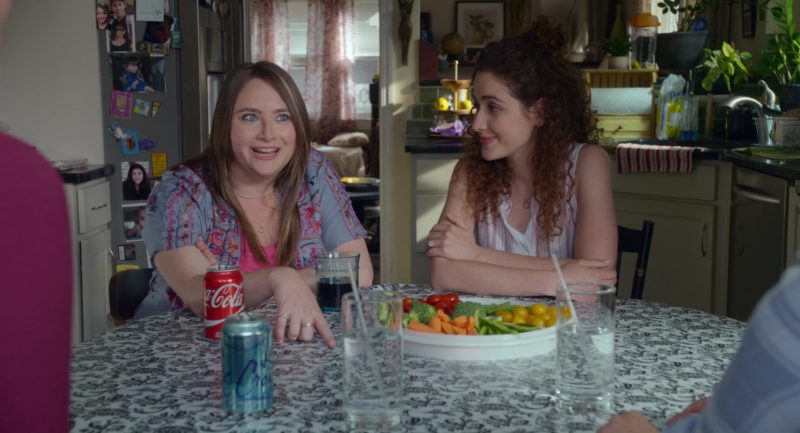 Coca-Cola and La Croix Sparkling Water in The Week Of (2018) - Movie Product Placement
