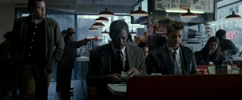 Coca-Cola in Seven (Se7en) (1995) Movie Product Placement