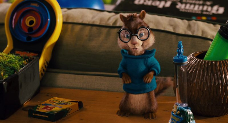 Crayola Crayons in Alvin and the Chipmunks (2007) - Movie Product Placement