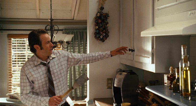 Cuisinart Coffee Machine Used by Jason Lee in Alvin and the Chipmunks (2007) Movie Product Placement