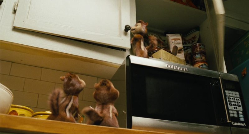 Cuisinart Microwave Oven (Stainless Steel) in Alvin and the Chipmunks (2007) - Movie Product Placement