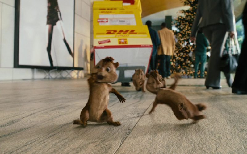 DHL in Alvin and the Chipmunks