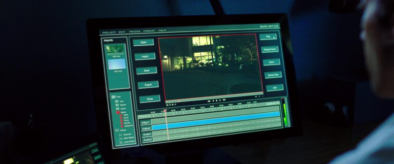 Dell Monitor Used by Jake Gyllenhaal in Nightcrawler (2014) - Movie Product Placement