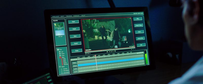 Dell Monitor Used by Jake Gyllenhaal in Nightcrawler (2014) Movie Product Placement