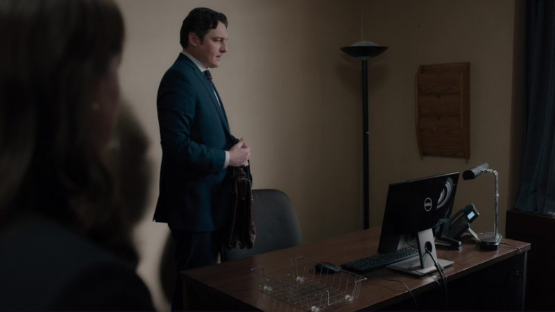 Dell Monitor Used by Toby Leonard Moore in Billions: All the Wilburys (2018) - TV Show Product Placement