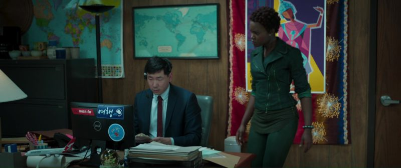 Dell Monitor in Black Panther (2018) - Movie Product Placement