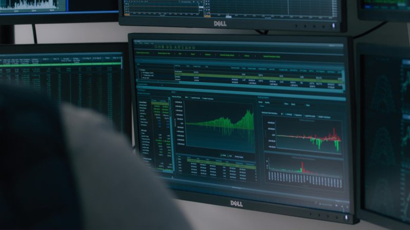 Dell Monitors in Billions: The Third Ortolan (2018) TV Show Product Placement