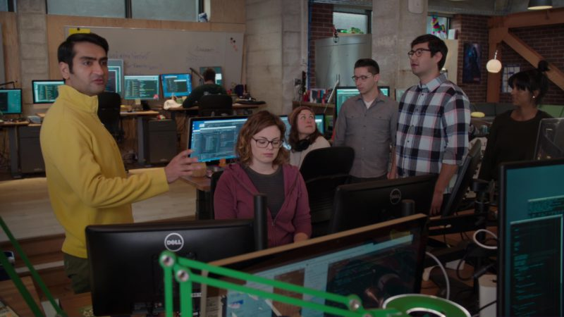 Dell Monitors in Silicon Valley: Initial Coin Offering (2018) - TV Show Product Placement