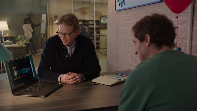 Dell Notebook in Silicon Valley: Tech Evangelist (2018) - TV Show Product Placement