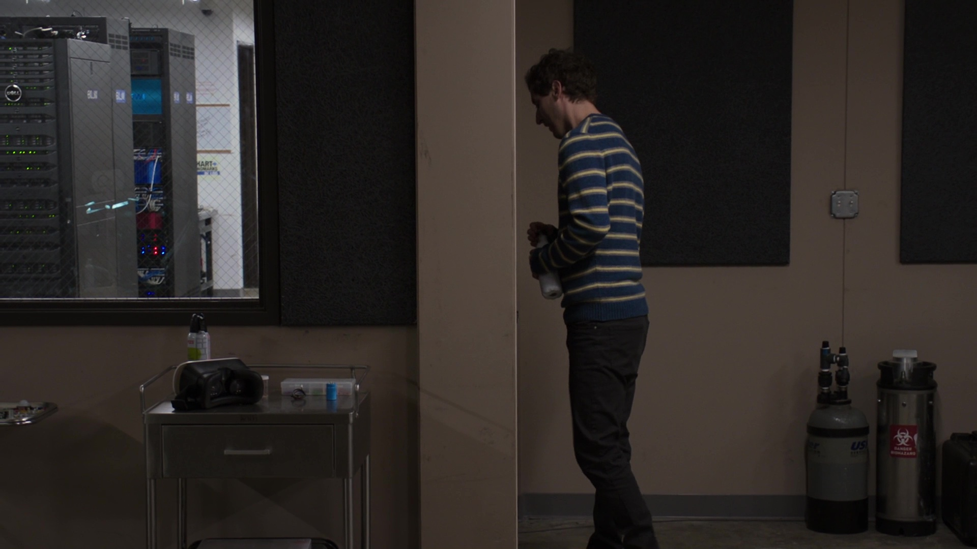 Dell Servers and S'well Bottle Used by Thomas Middleditch in Silicon