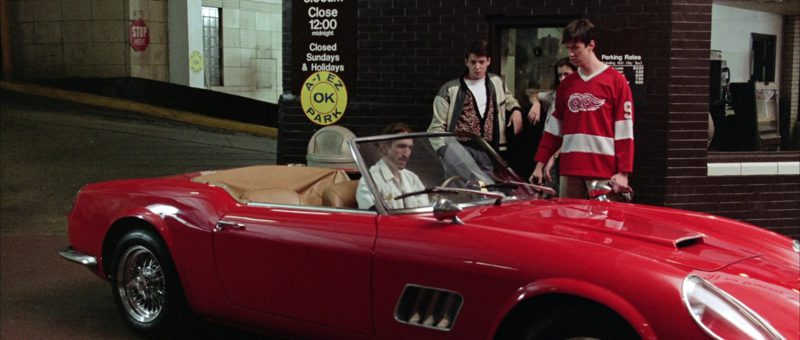 Detroit Red Wings Ice Hockey Jersey Worn by Alan Ruck in Ferris Bueller's Day Off (1986) - Movie Product Placement