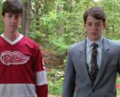 Detroit Red Wings Ice Hockey Jersey Worn by Alan Ruck (2)