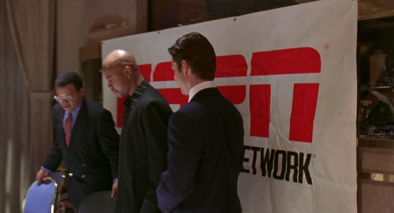 ESPN in Jerry Maguire (1996) Movie Product Placement