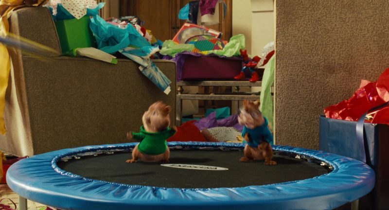 Mini Workout Trampoline by Exercera  in Alvin and the Chipmunks (2007) Movie Product Placement
